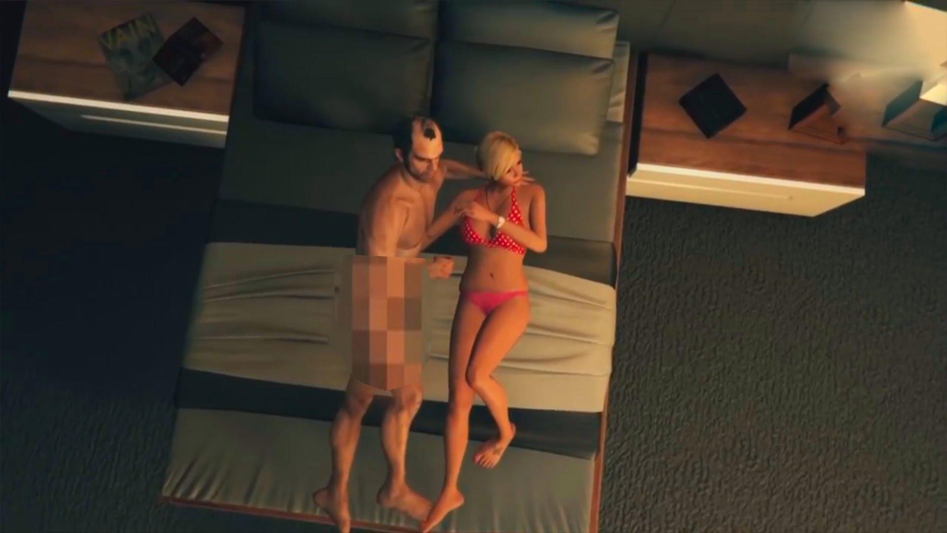 Смотреть видео секса в гта 5