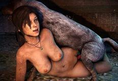 порно лара вдоволь натрахалась с конем фото